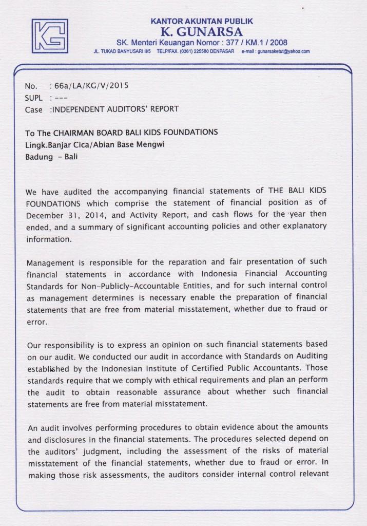 Audit 2014 page 1