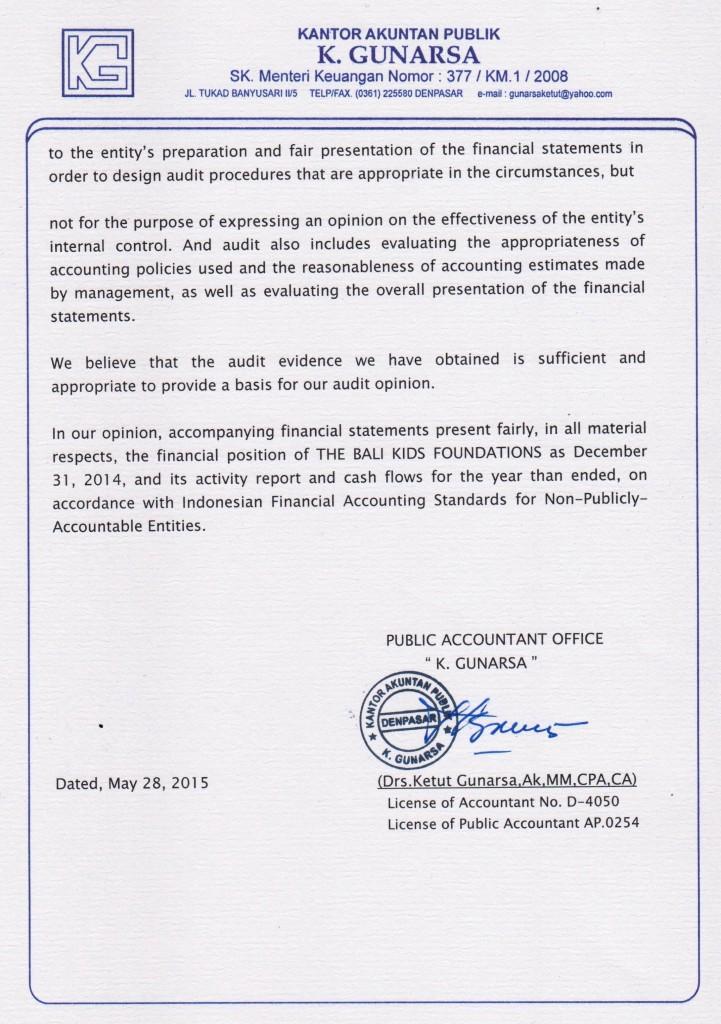 Audit 2014 page 2